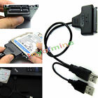 Hard Disk Drive SATA 7+15 Pin 22 to USB 2.0 Adapter Cable For 2.5 HDD Laptop EY