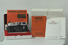Leica Chrome Big M-6 0.72 Camera Body w/Cap, Strap and Box