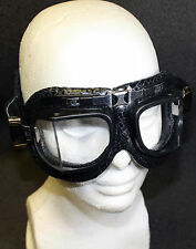 Vintage Motorcycle Biker Goggles Single head Strap Cosplay Steampunk Mad Science