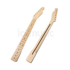 Electric Guitar Neck For Fender Tele Parts Replacement 22 Fret Maple Wood 1 Pcs