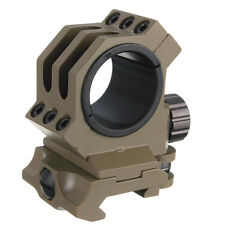 """30mm/25.4mm 1"""" Rings fit 20mm Weaver/picatinny Rail Scope Mount QD Quick Release"""