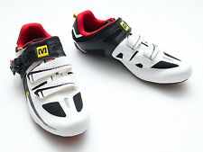 Mavic Avenge Maxi Men Carbon Road Bike Shoes 3 Bolt EU Size 42 2/3 US 9 NEW