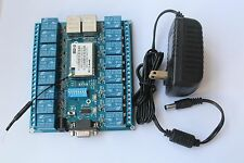 Network Relay Control Switch 16 Road Relay Remote Control P2P WIFI Module