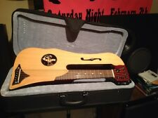 Rare travel guitar SHIPS FREE in USA  Cupit Music suitcase smallest ever