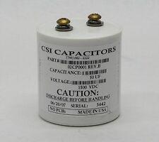 CSI CAPACITORS 50 UF 50UF 1500VDC 02CP0001 REV. B