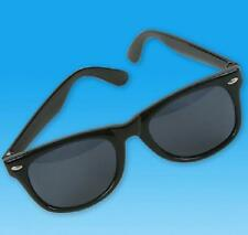 1 Pair BLUES BROTHERS Wayfarer Sunglasses Black Frames Retro #AA74 Free Shipping