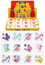 576 Mini Fairy Temporary Tattoos: Wholesale Job Lot of 12 assorted designs