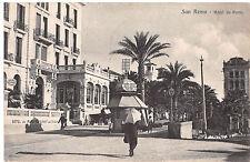 8894) SAN REMO IMPERIA HOTEL DE PARIS CHIOSCO VG NEL 1919.
