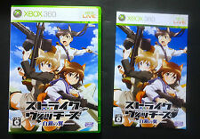 STRIKE WITCHES XBOX 360 JAPAN Very Good Condition !