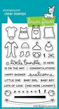 NEW Lawn Fawn Clear Stamps Little Bundle Baby