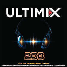 Ultimix 233 CD The Chainsmokers Katy Perry Flume DJ Snake Henry Fong