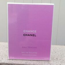 CHANCE EAU TENDRE BY CHANEL EAU DE TOILETTE SPRAY 150 ML / 5 OZ. FACTORY SEALED