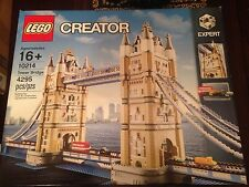 LEGO Creator 10214 Tower Bridge New in Opened/Distressed Box Free Shipping