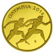 2016 Olympia 1g Proof .999 Gold Coin