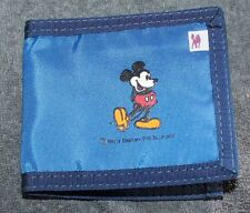 NICE DISNEY MICKEY MOUSE BLUE FOLD OVER WALLET BY FOX