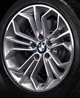 """BMW OEM E84 X1 SUV 18"""" LA Wheel Honeycomb Styling 323"""