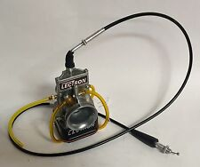 Honda ATC250R TRX250R 40 mm Lectron Carb Carburetor Kit Cable Drag ESR 330 Alky