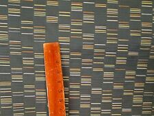 "5 & 1/2 YDS MAHARAM UPHOLSTERY FABRIC ""COLUMNS"" CONTEMPORARY ABSTRACT DESIGN"