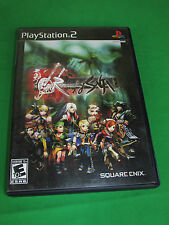 Romancing Saga (Playstation 2 PS2, 2005) Square Enix Complete Black Label Game