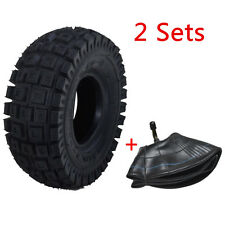 Gas Scooter Tire + Inner TUBE 9x3.50/3.00-4 Combo Replacement Part 300x4 go ped