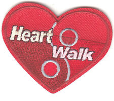 """""""HEART WALK"""" - PATCH - Iron On Embroidered Applique/Nurse, Medic, Professions"""