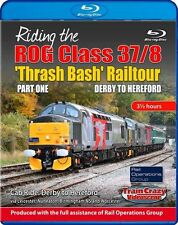 Riding the ROG Class 37/8 'Thrash Bash' Railtour: Part 1 Derby to Hereford B-RAY