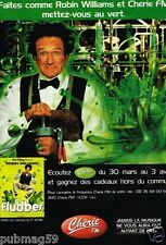 Publicité Advertising 1998 Radio Cherie FM avec Robin Williams Flubber