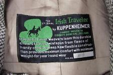 Vtg 50s Kuppenheimer Irish Traveler Tweed Coat Hollywood Swing VLV Ireland Rare