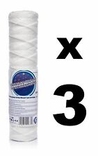 "3 x 5 micron string wound filter 10"",Bio-diesel,wvo vegetable oil filter!"