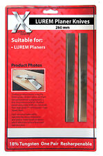 LUREM HSS Planer Blades 260mm to suit LUREM machine   2602025