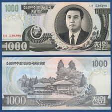 KOREA 1000 Won 2002 UNC  P. 45 a