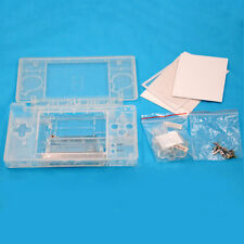 Full Housing Transparent Shell Case Kit Replacement for Nintendo DS Lite NDSL