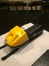 VINTAGE SKI-DOO BATTERY OPERATED TOY, TNT 775, SNOWMOBILE, USED COND. NO RES.