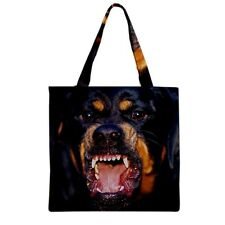 NEW Rottweiler PUPPY DOG for Grocery TOTE Bag TWO SIDE FREE Shipping