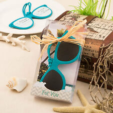 18 Destination Wedding Favors Sunglasses Luggage Tags Beach Theme Favor
