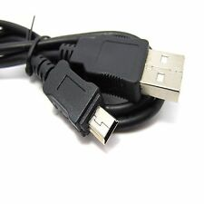 80cm USB Cable Mini USB to A (5pin charger cord data sync PSP MP3 MP4 GPS photo)