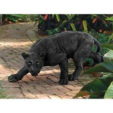 Black Panther Statue Garden African Large Jungle Cat Deadly Game