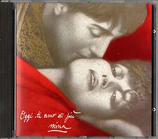 MINA oggi ti amo di più CD 1988 CDX7900412 RARA PRIMA STAMPA made in SWITZERLAND