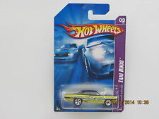 Hot Wheels 2007 PLYMOUTH 1970 ROADRUNNER TAXI RODS YELLOW BLACK CARS B-BB-GN