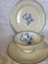 Vintage Rosenthal Selb Teacup, saucer, cake plate; Winifred
