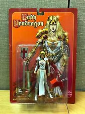 LADY PENDRAGON Blonde White/Silver Matt Hawkins Action Toys  1999 NEW