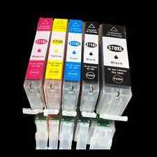 5 Drucker Patrone für Canon PIXMA MG7700 MG 5752 5753 6851 MG6800 6850 mit CHIP