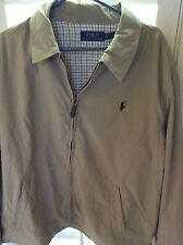NEW RALPH LAUREN POLO DURHAM WINDBREAKER JACKET/COAT LINED KHAKI TAN $145 2XL