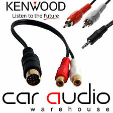 Kenwood CA-C1AX Replacement Car Stereo iPod iPhone MP3 Aux In Input Adaptor Lead