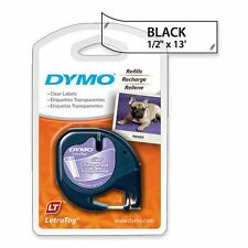 DYMO LetraTag Labeling Tape for LetraTag Labe Makers,16952l Size:1-roll pack AOI