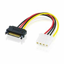 SATA Power auf IDE Adapter / IDE Molex an S-ATA Strom