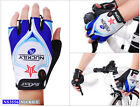 Nuckily Cycling Half Finger Gloves Bike Bicycle Antiskid Silicone Gel #3556