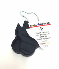 Kool Kovers Bike Pedal Rubber Cleat Covers fits Shimano SPD-SL SM-SH11 SH10 SH12
