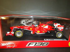 Hot Wheels Ferrari F138 Fernando Alonso 2013 1/18