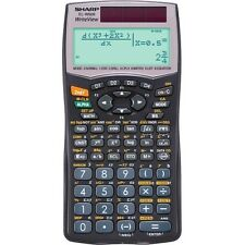Sharp EL-W506 Write-View Advanced Solar Scientific Calculator